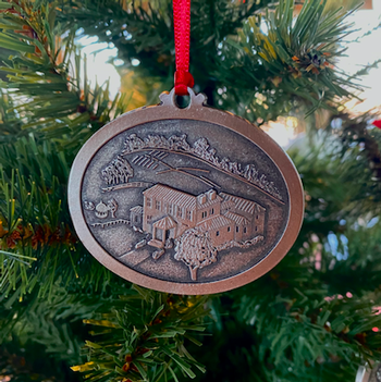 Engraved Pewter Ornament